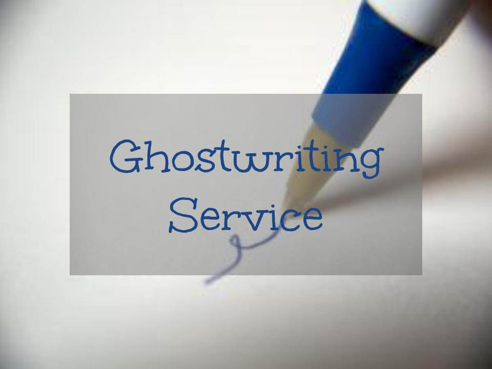 Where can i find good professional ghostwriting services?