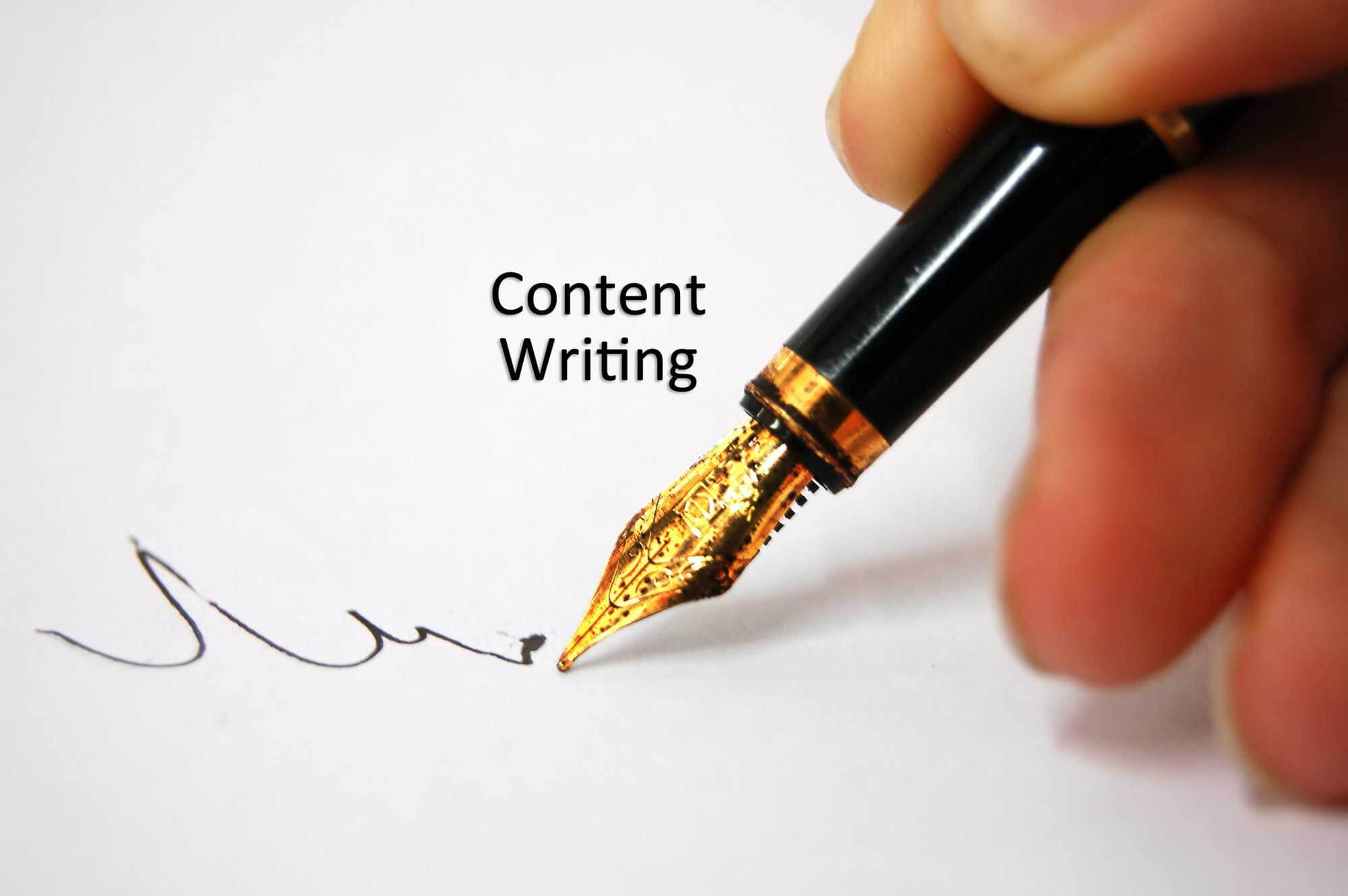 Website content writer services new